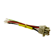 MALE WIRING HARNESS CONNECTOR FOR GYSDUCTION