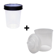 CAM 650 SOLVENT CUP - COLLAR & LINER KIT