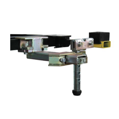 ADJUSTABLE COMPACT CLAMPS WITH SHAFT COMPLETE AND BRACKETS