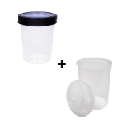 CAM 400 SOLVENT CUP COLLAR & LINER KIT