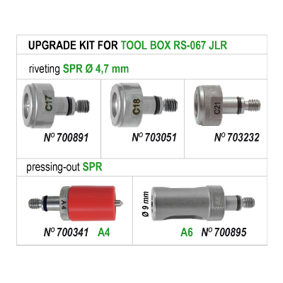 UPGRADE KIT FOR TOOL BOX RS-067 JLR