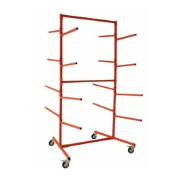 MOBILE BUMPER STORAGE STAND